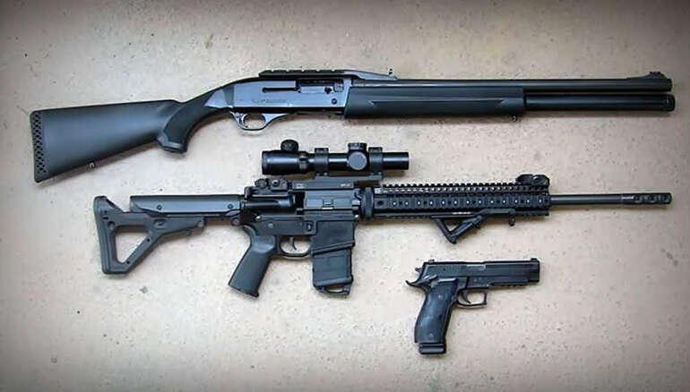 Three Gun Discipline