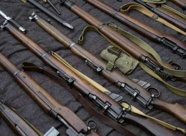 Vintage Military Rifle Silhouette Discipline